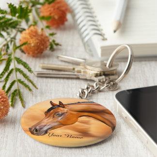 Porte-clés Cheval Arabe personnalisé