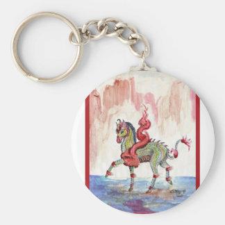 Porte-clés Cheval de fée de licorne de dragon de Kir'rin