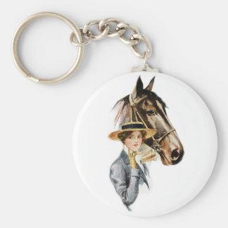Porte-clés Cheval et Madame Keychain