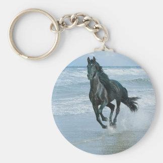 Porte clés cheval porte-clé rond