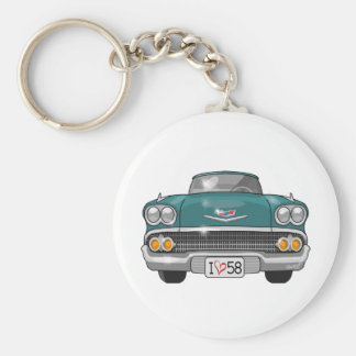 Porte-clés Chevrolet Impala 1958