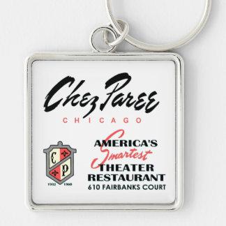 Porte-clés Chez Paree, boîte de nuit, Chicago, IL