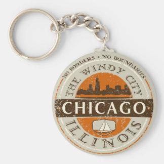 Porte-clés Chicago - porte - clé