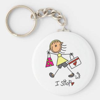 Porte-clés Chiffre porte - clé de bâton de magasin