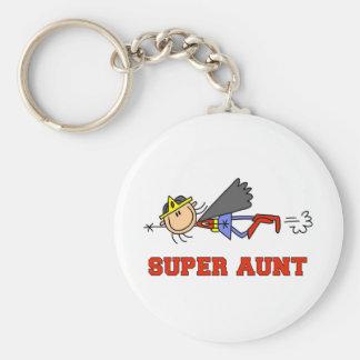 Porte-clés Chiffre tante superbe Keychain de bâton