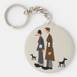 Porte-clés chiffres de Lowry-style