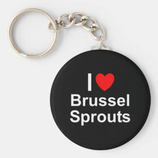 Porte-clés Choux de Bruxelles