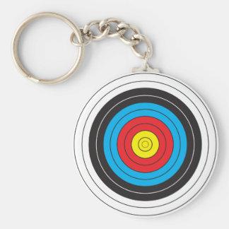 Porte-clés Cible de tir à l'arc