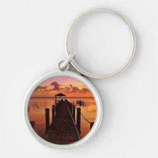 Porte-clés Ciel de coucher du soleil