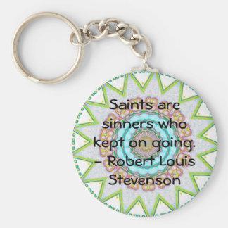 Porte-clés CITATION drôle inspirée de motivation
