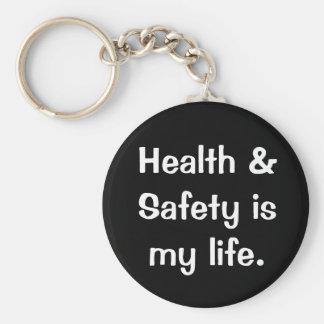 Porte-clés Citation humoristique et drôle de santé et