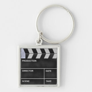 Porte-clés clap cinéma