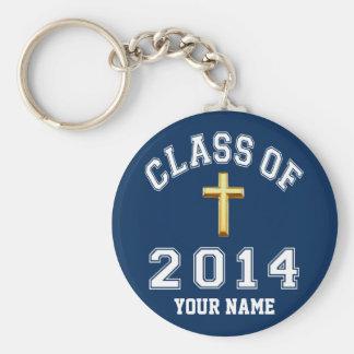 Porte-clés Classe de croix de 2014 chrétiens