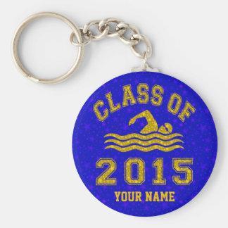 Porte-clés Classe de la natation 2015