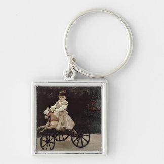 Porte-clés Claude Monet | Jean Monet sur son cheval de