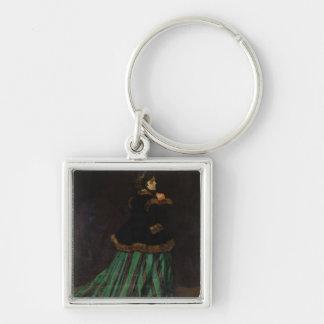 Porte-clés Claude Monet | la femme dans la robe verte, 1866
