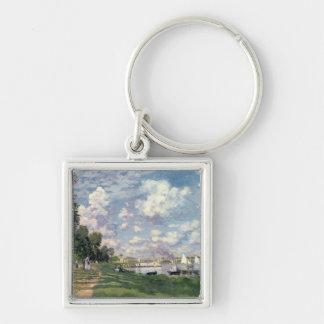 Porte-clés Claude Monet | la marina à Argenteuil, 1872