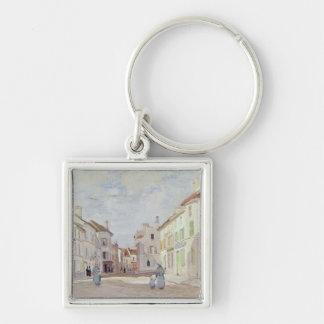 Porte-clés Claude Monet | Rue de la Chaussee à Argenteuil