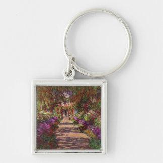 Porte-clés Claude Monet | une voie dans le jardin de Monet