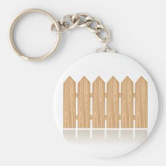 Porte-clés Clôture en bois