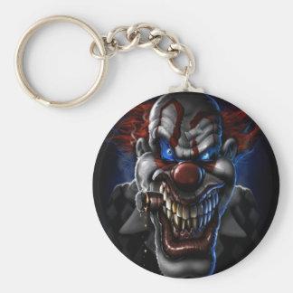Porte-clés Clown et cigare mauvais