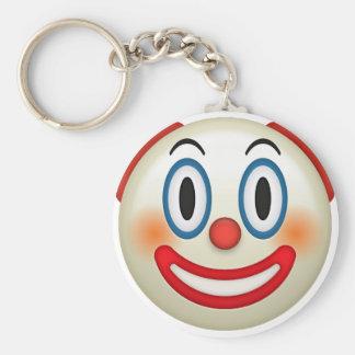 Porte-clés Clown fou Emoji