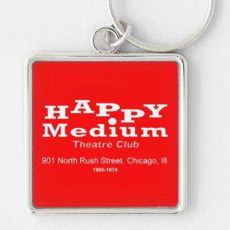 Porte-clés Club de théâtre de milieu heureux, St de