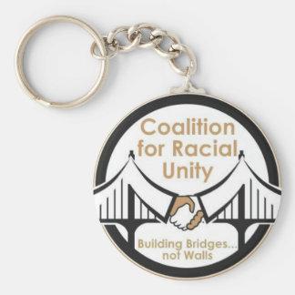 Porte-clés Coalition pour l'unité raciale