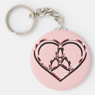 Porte-clés coeur celtique