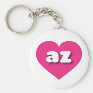 Porte-clés Coeur de roses indien de l'Arizona - mini amour