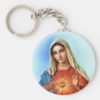 Porte-clés Coeur impeccable Mary