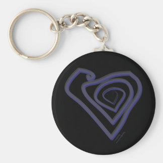 Porte-clés Coeur Keychain. de Goth