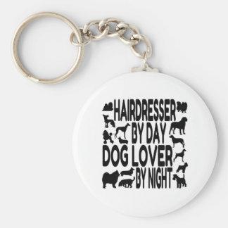Porte-clés Coiffeur d'amoureux des chiens