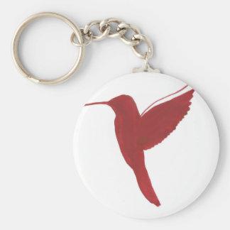 Porte-clés Colibri rouge