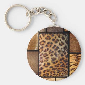 Porte-clés Collage de poster de animal