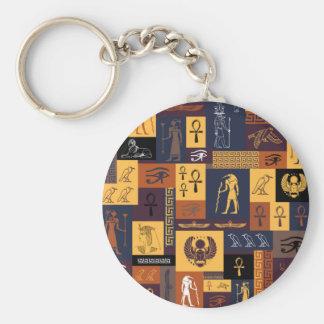 Porte-clés Collage égyptien