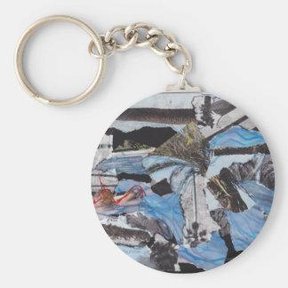 Porte-clés Collage superbe de Sandy de tempête