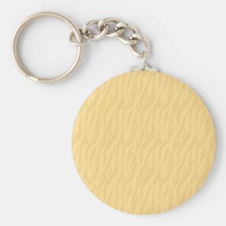 Porte-clés Collection pâle de cadeau d'impression de zèbre