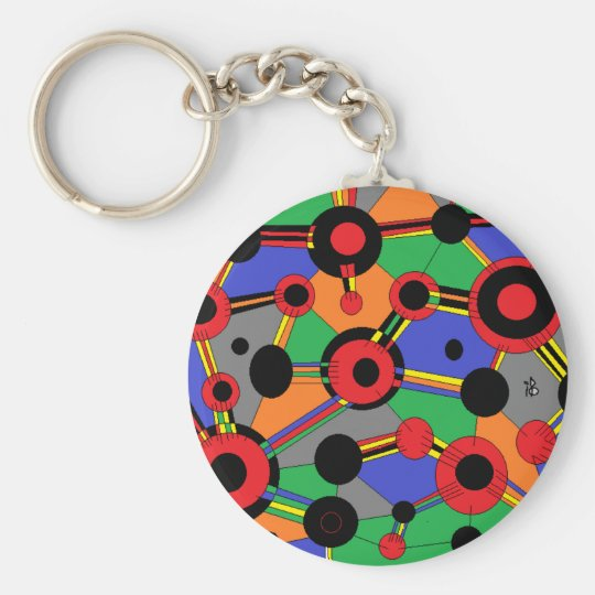 Porte-clés colors ball