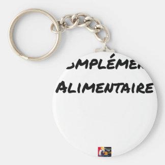 Porte-clés COMPLÉMENT ALIMENTAIRE - Jeux de mots