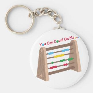 Porte-clés Compte sur moi