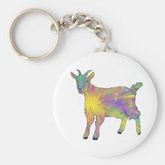 Porte-clés Conception animale drôle de Starburst de chèvre