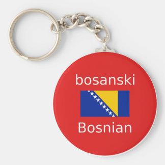 Porte-clés Conception bosnienne de langue