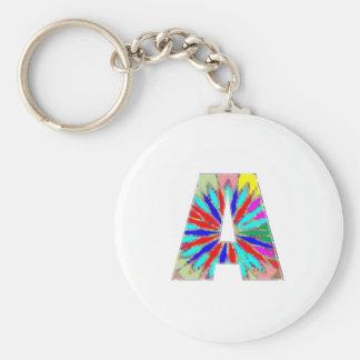 Porte-clés Conception créative de premier de lettre PORTE -