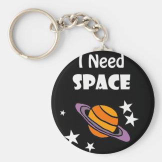 Porte-clés Conception d'art de l'espace du besoin de