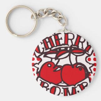 Porte-clés Conception de bombe de cerise