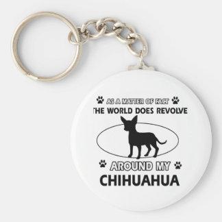 Porte-clés Conception de chiwawa