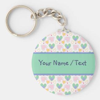 Porte-clés Conception de coeur