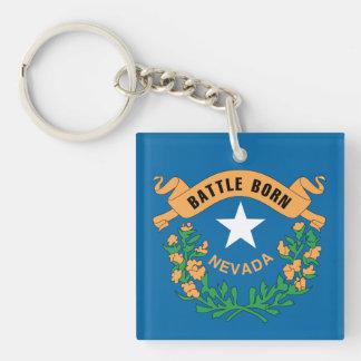 Porte-clés Conception de drapeau du NEVADA -