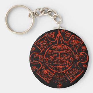 Porte-clés Conception maya d'image de calendrier